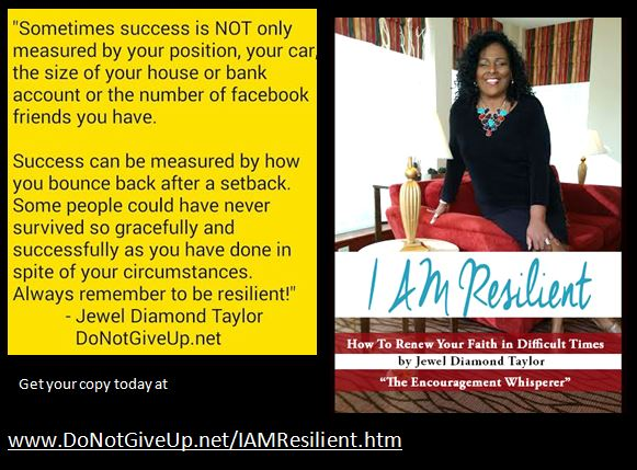 book cover I am Resilient 2