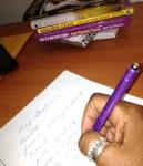 writing down goals 2