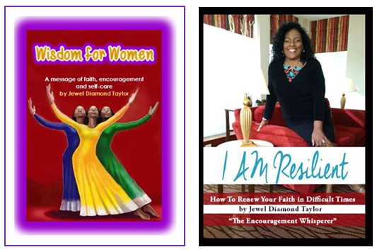 cover wisdom for women and I am resilient