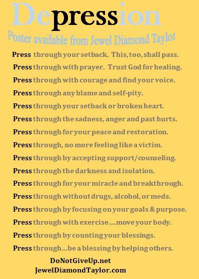 depression press