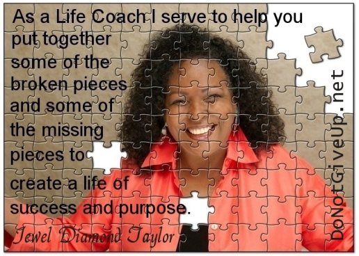 Jewel Diamond Taylor puzzle