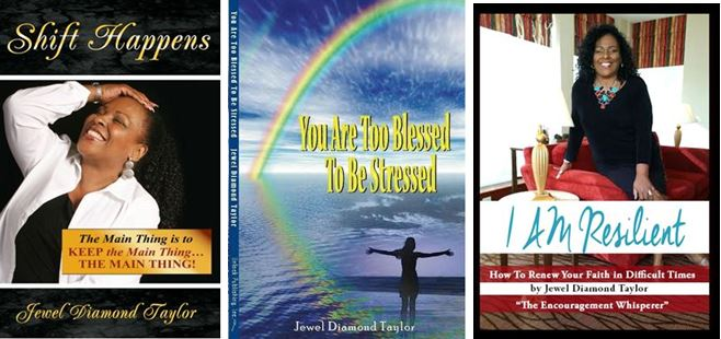 3 book covers resilient shift happens TBTBS