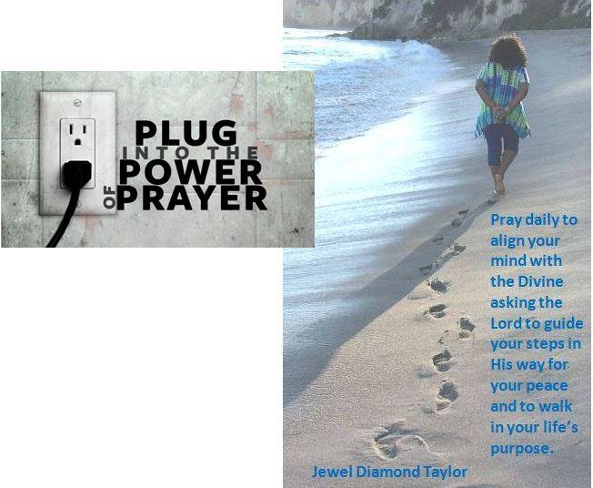 praying at beach