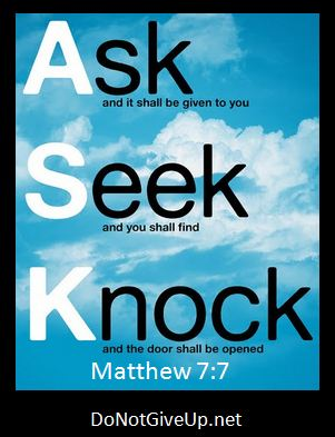 Ask, Seek, Knock